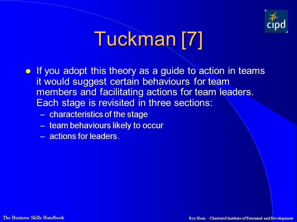 Tuckman [7]
